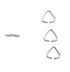 5mm Sterling Silver Open Triangle Jump Ring