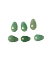 10x7mm Green Aventurine (N) Teardrop - Designer Quality