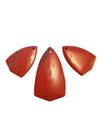 50x27mm and 33x21mm Red Jasper (N) Shield