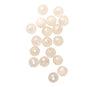 4mm Snow Quartz (N) Round Designer Quality