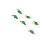 3x2mm Green Onyx (D) GFB Charm