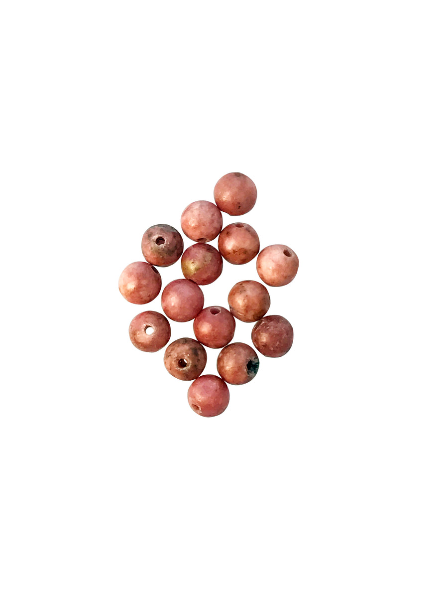 4mm Rhodonite (N) Round Designer Quality
