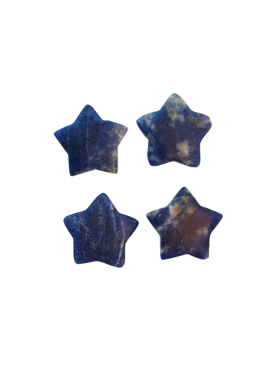 20x20mm Sodalite (N) Star Designer Quality