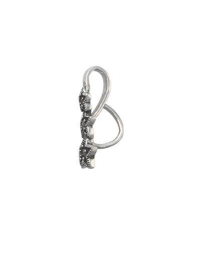 19x6mm Marcasite (N) Star Prong Bail