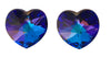 Swarovski® Crystals #6228 - 14x14mm Purple Velvet Heart Pendant
