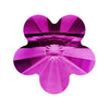 Swarovski® Crystals #5744 - 6x6mm Fuchsia Flower