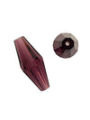 Swarovski® Crystals #5205 - 25x10mm Amethyst Elongated (Double) Bicone Cone