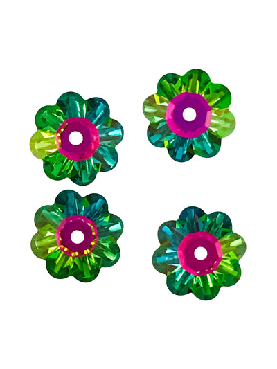 Swarovski® Crystals #3700 - 8x3mm Vitrail Medium Marguerite Lochrose Flower