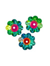 Swarovski® Crystals #3700 - 12x4mm Vitrail Medium Marguerite Lochrose Flower
