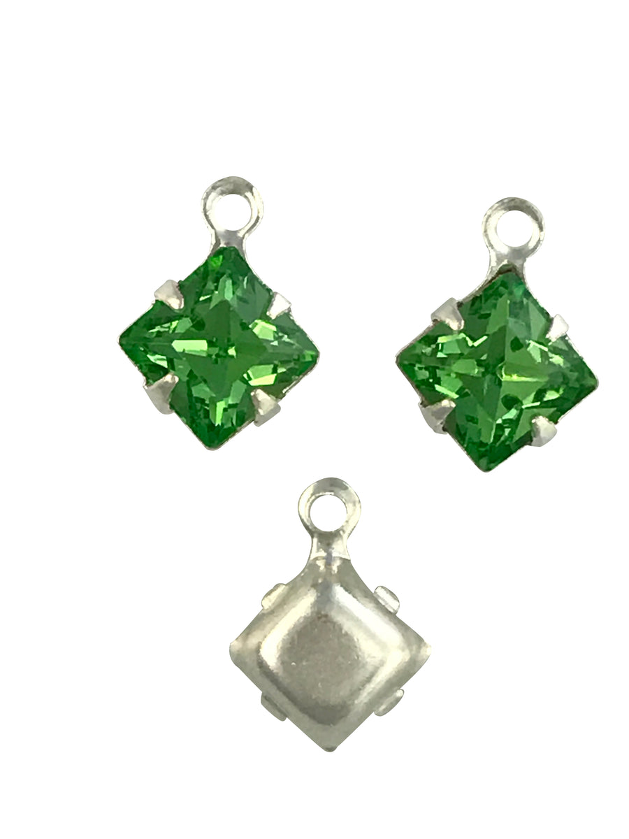 Swarovski® Crystals #18804 - 8mm Peridot SPB Drop