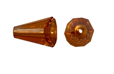 Swarovski® Crystals #5540 - 12x9.5mm Crystal Copper Artemis
