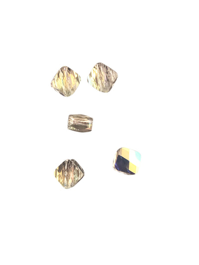 Swarovski® Crystals #5054 - 6x6mm Crystal AB Mini Rhombus