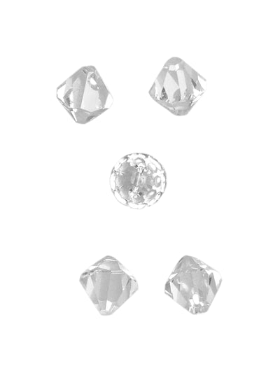 Swarovski® Crystals #6301 - 8mm Crystal Clear Bicone Drop