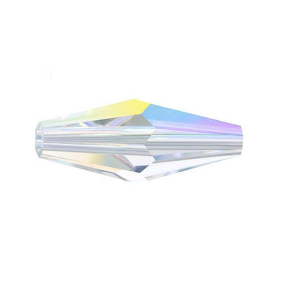 Swarovski® Crystals #5205 - 15x6mm Crystal AB Elongated (Double) Bicone Cone