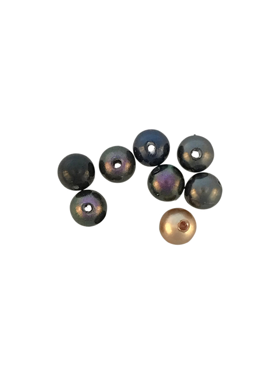 Swarovski® Crystals #5810 - 4mm Mystery Mix Faux Pearl Bead Round