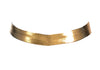 Gold Colored Metallic Choker, 12 Inches
