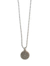 Petite Rider's Prayer Necklace, 28 Inches