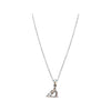 Lightweight Shiny Barrel Racing Pendant Necklace, 16 Inches