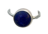 Sterling Silver and Natural Lapis Lazuli Ring, Size 7