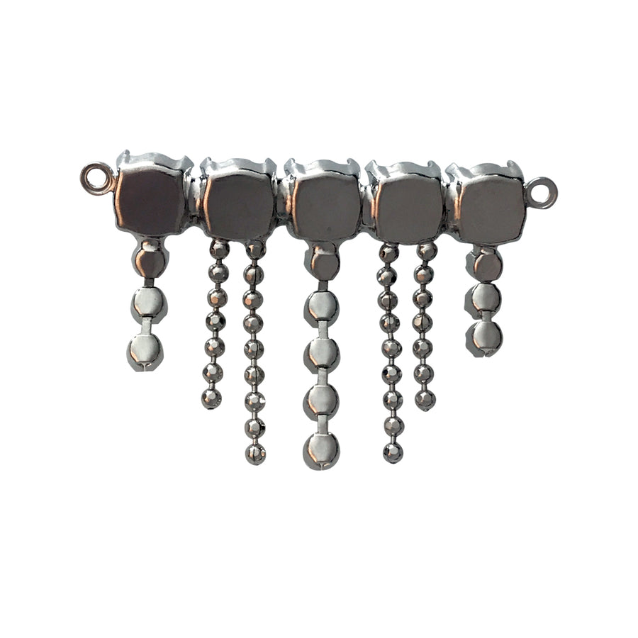 PP24, SS39 Pendant Base With Hanging Ball Chain
