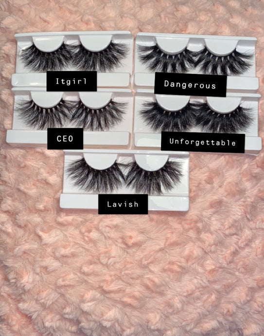 The Susie B Collection Lashes