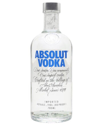 Absolut Vodka 70 Cl - Drinksdeliverylondon