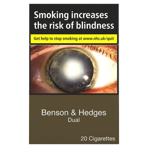 Benson And Hedges Dual 20 Pack - Drinksdeliverylondon