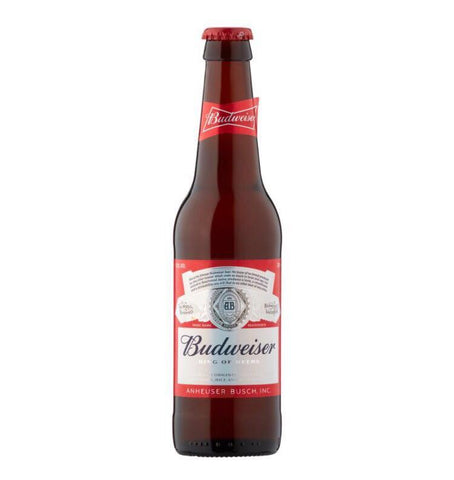 Budweiser Beers x 12 - Drinksdeliverylondon