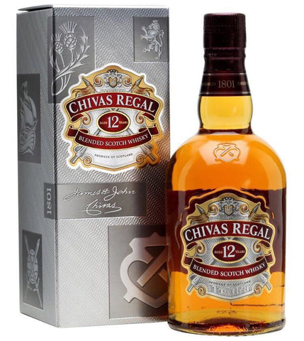 Chivas Regal Whiskey - Drinksdeliverylondon