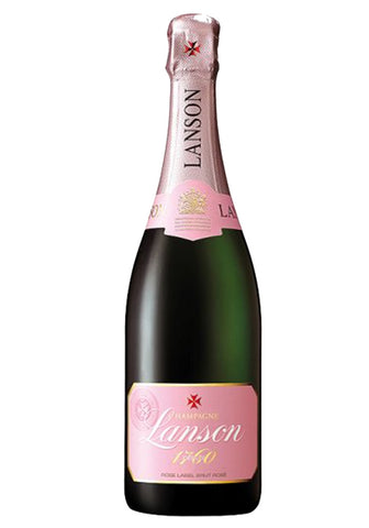 Lanson Rose Champagne - Drinksdeliverylondon