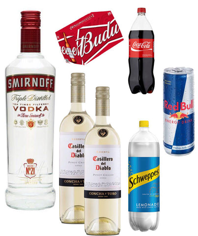 Party Saver Pack - Drinksdeliverylondon