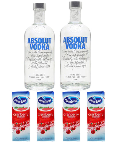 Vodka Party Pack - Drinksdeliverylondon