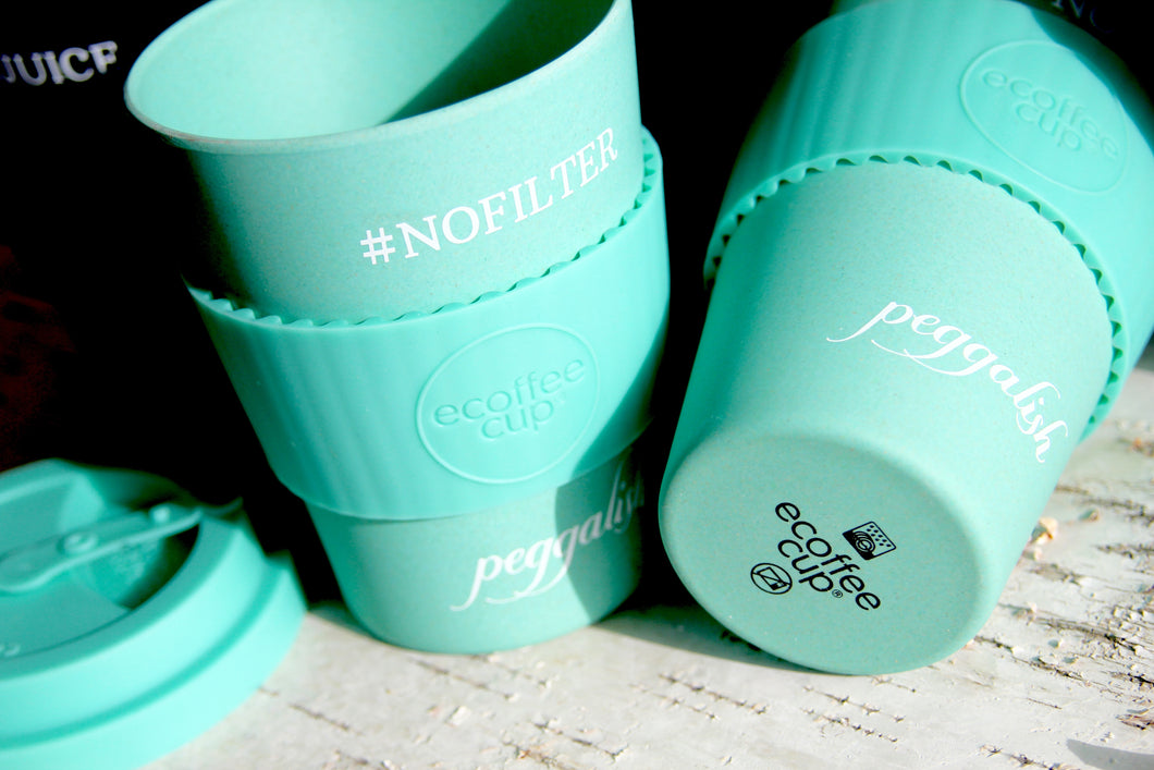 Bamboo Travel Cup: Aqua