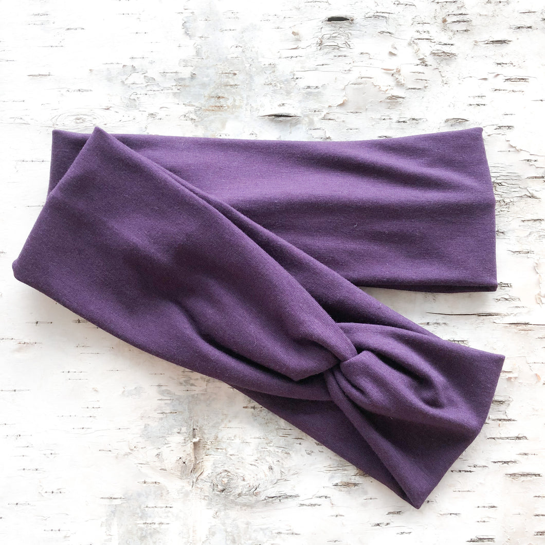 TWIST Headband - Plum
