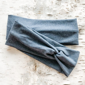 TWIST Headband - Denim