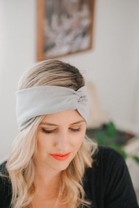 TWIST Headband - Pebble