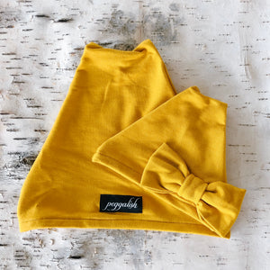 Beanie Hat - Honey Mustard