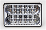 Whelen 400 Series LED Lighthead for 4500 Lightbar - RED