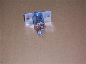 Metal Door Jamb Switch Plunger with 2 terminals