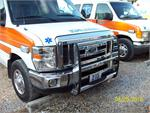 Go Rhino! Chrome E-350 Push Bumper