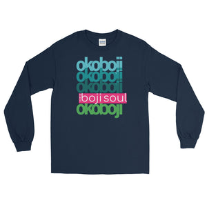 OKOBOJI LAYER BLUE LADIES LONG SLEEVE