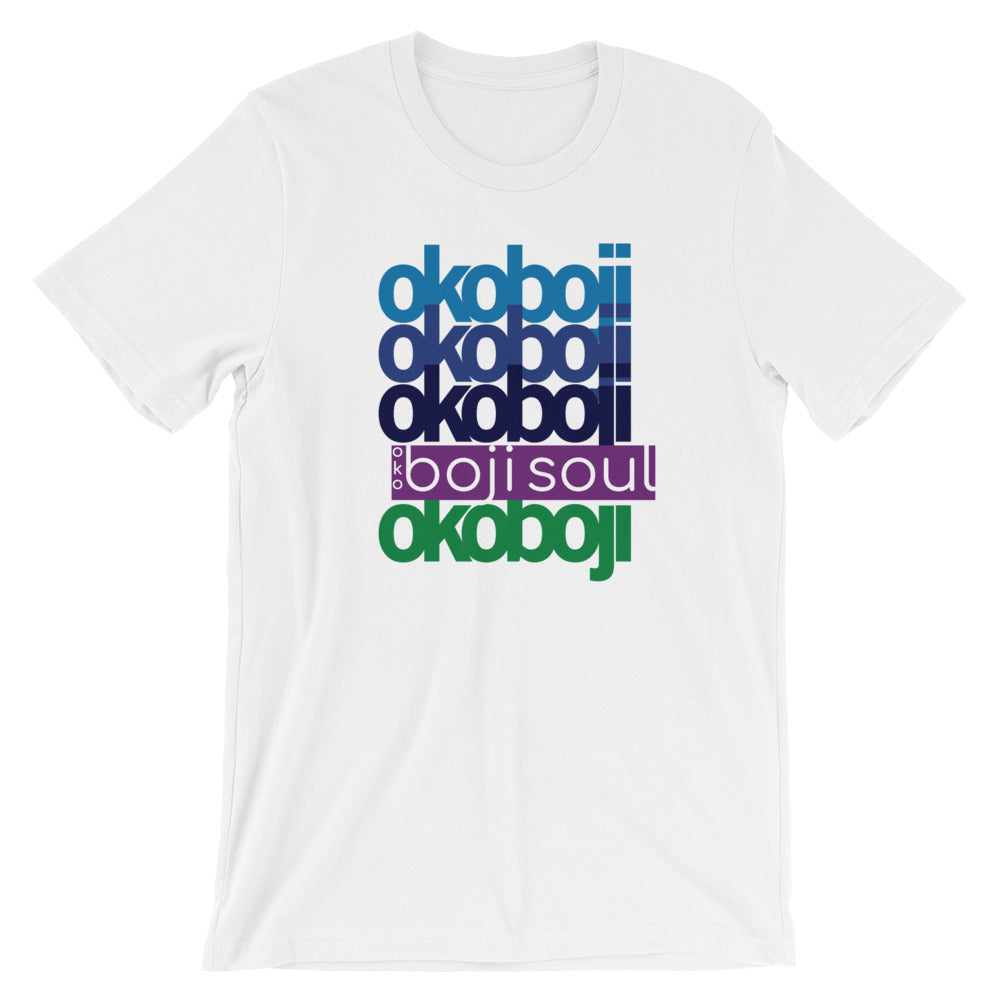 OKOBOJI LAYER PURPLE MENS TSHIRT