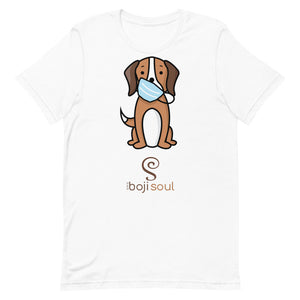 BROWN DOG MASK TSHIRT