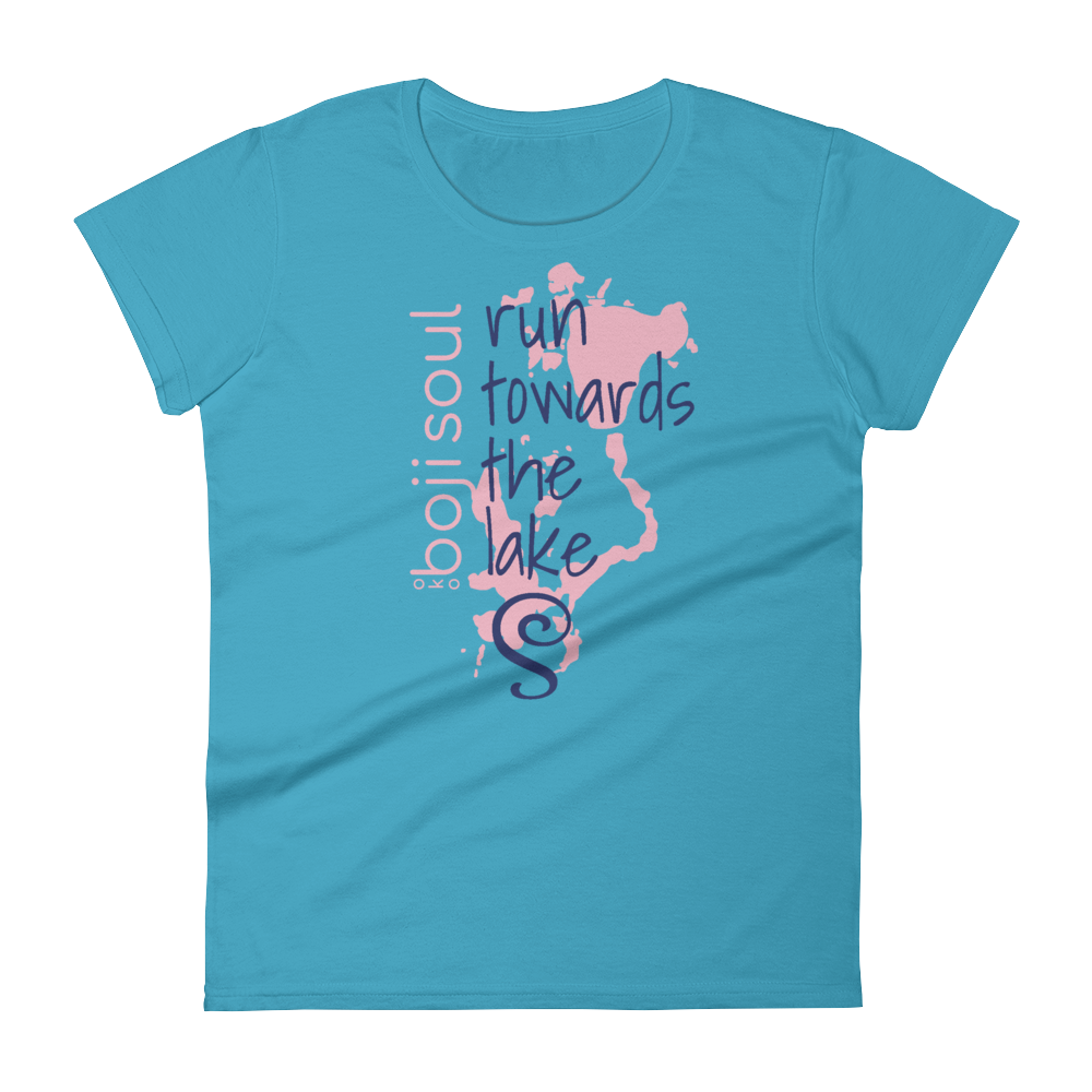 RUN LADIES TSHIRT