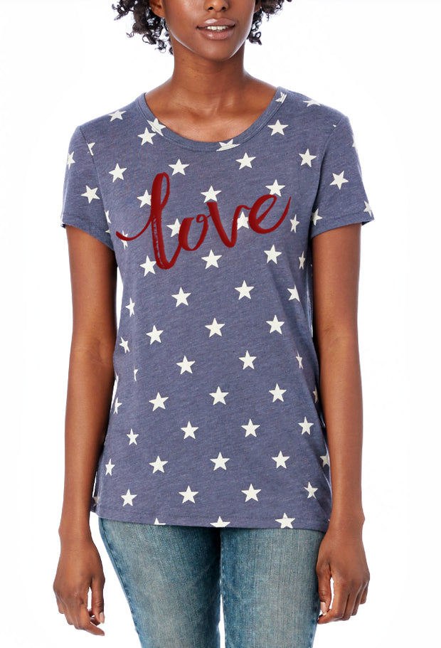 I Love USA Tee - Melissa Jean Boutique