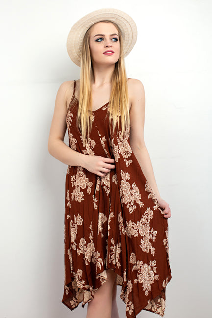 Brooke Floral Tank Dress