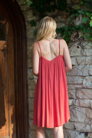 Crimson Cami Dress - Melissa Jean Boutique