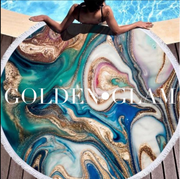 Geode Round Beach Towels * Multiple Colors - Melissa Jean Boutique