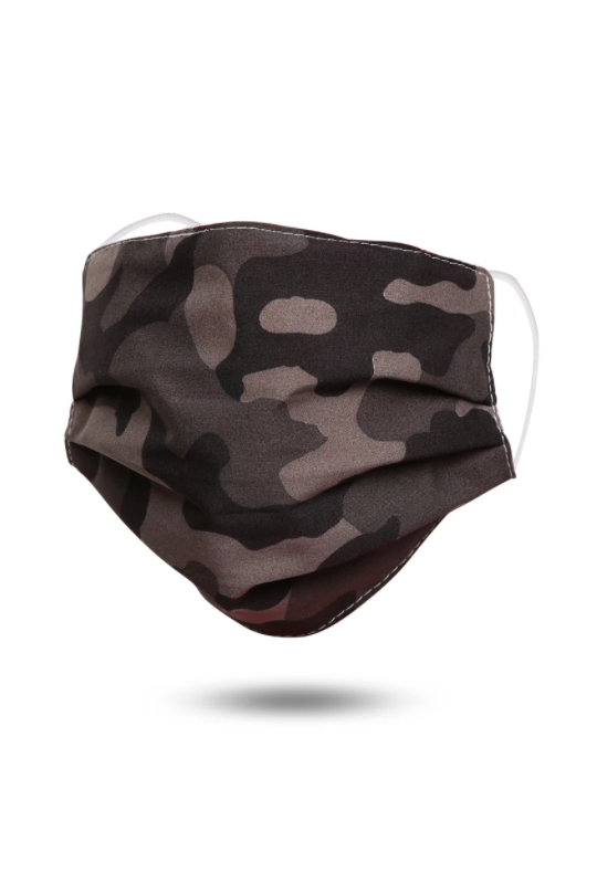 Camo Face Mask - Melissa Jean Boutique