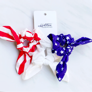 Stars & Stripes Hair Tie Scrunchies - Melissa Jean Boutique